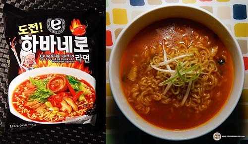 Spiciest #2: emart Dare You! Habanero Ramyun – South Korea - The Ramen Rater's Top Ten Spiciest Instant Noodles Of All Time 2017 Edition