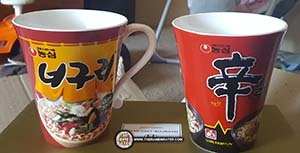 Bokkeum Neoguri & Mr. Bibim Samples From Nongshim South Korea - South Korea - The Ramen Rater - ramyun