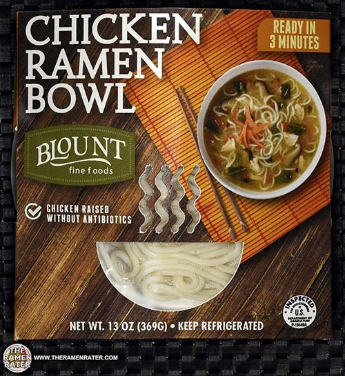 Blount Fine Foods Meet The Manufacturer #2597: Blount Chicken Ramen Bowl - United States - The Ramen Rater