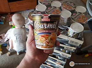 An Enormous Gift From Nissin Mexico - Gourmet - Cup Noodles - Caldo De Camaron - The Ramen Rater - Instant Noodles