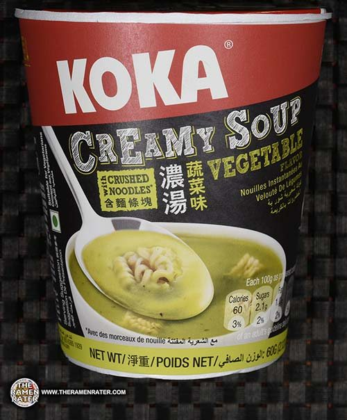 #2643: KOKA Creamy Soup With Crushed Noodles Vegetable Flavour - Singapore - The Ramen Rater