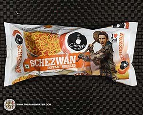 #2646: Ching's Secret Schezwan Instant Noodles - India - The Ramen Rater - Ranveer Ching
