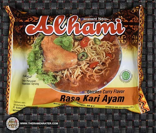 Meet The Manufacturer: #2650: Alhami Instant Noodles Chicken Curry Flavor