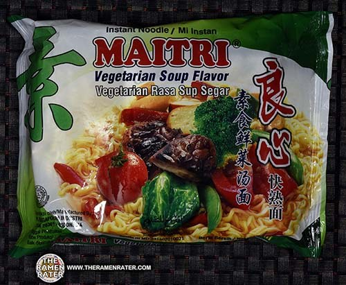 Meet The Manufacturer: #2664: Maitri Instant Noodle Vegetarian Soup Flavor