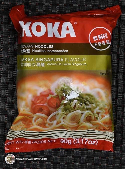 #2639: KOKA Instant Noodles Laksa Singapura Flavour - Singapore - The Ramen Rater