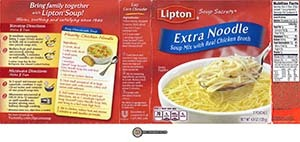 #2540: Lipton Soup Secrets Extra Noodle Soup Mix With Real Chicken Broth - The Ramen Rater - cup-a-soup