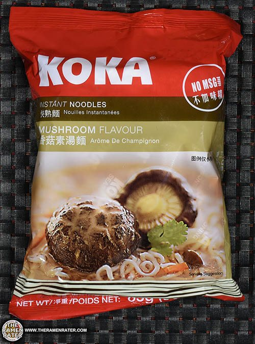 #2684: KOKA Instant Noodles Mushroom Flavour - Singapore - The Ramen Rater