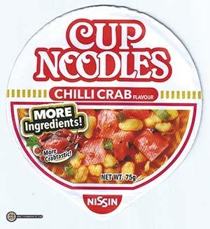 #2698: Nissin Cup Noodles Chilli Crab Flavour (More Crabtastic)