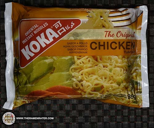 #2701: KOKA The Original Chicken Flavor Oriental Instant Noodles - Singapore - The Ramen Rater