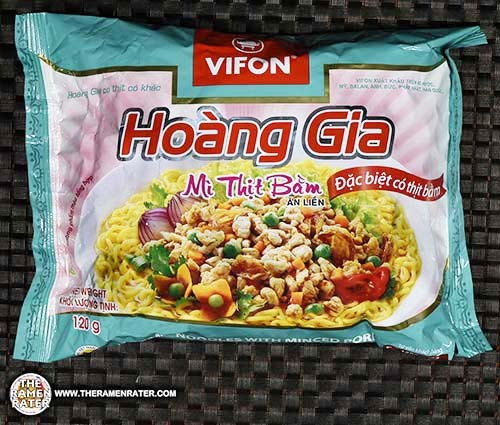 #2728: Vifon Hoang Gia Instant Noodles With Minced Pork Mi Thit Bam Vietnam The Ramen Rater Hen Long Market