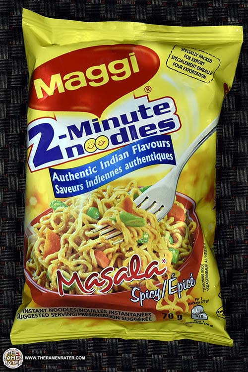 #2712: Maggi 2-Minute Noodle Masala Spicy (Export) - India