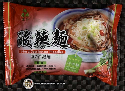 #2748: LeeZen Hot & Sour Instant Noodles