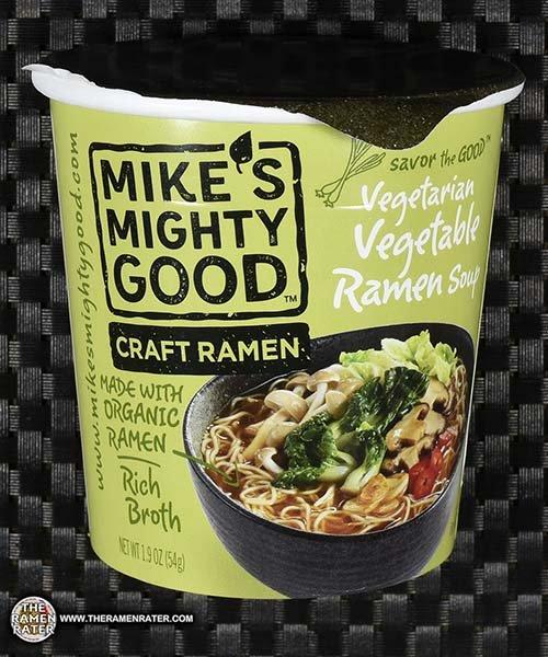 Meet The Manufacturer: #2791: Mike's Mighty Good Craft Ramen Vegetarian Vegetable Ramen Soup