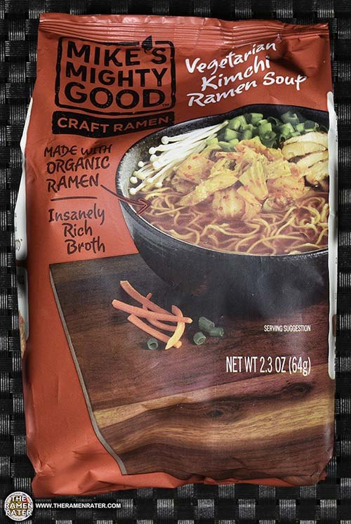 Meet The Manufacturer: #2794: Mike's Mighty Good Craft Ramen Vegetarian Kimchi Ramen Soup