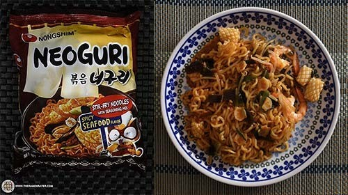 #7: Nongshim Neoguri Stir-fry Noodles Spicy Seafood