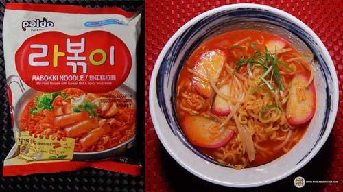 #6: Paldo Rabokki Noodle