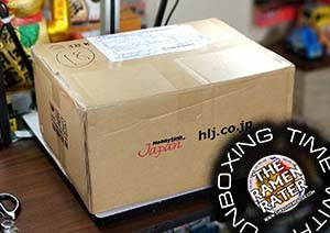 Unboxing Time: Instant Ramen From Hobby Link Japan