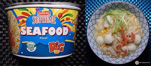 #10: Lucky Me! Supreme Seafood Flavor Big Cup
