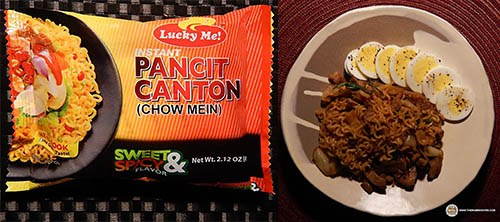 #6: Lucky Me! Pancit Canton (Chow Mein) Sweet & Spicy Flavor