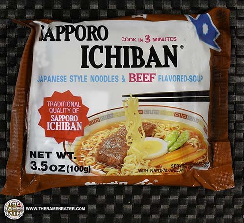 Meet The Manufacturer: Re-Review: Sapporo Ichiban Japanese Style Noodles & Beef Flavored Soup