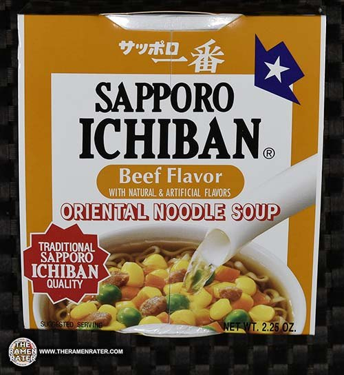 Meet The Manufacturer: Re-Review: Sapporo Ichiban Beef Flavor Oriental Noodle Soup