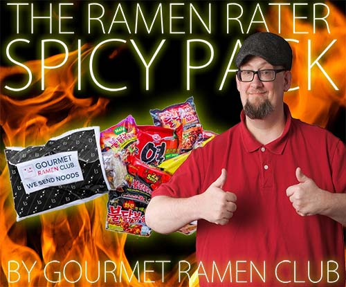 Unboxing Time: The Ramen Rater Spicy Pack By Gourmet Ramen Club