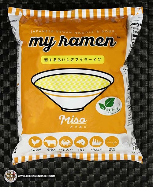#2829: my ramen Japanese Vegan Noodle & Soup Miso shichisai japan