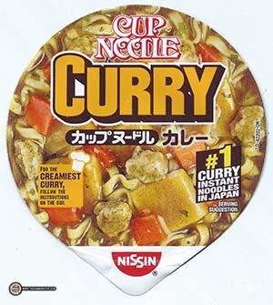 #2832: Nissin Cup Noodle Curry Ramen Noodle Soup