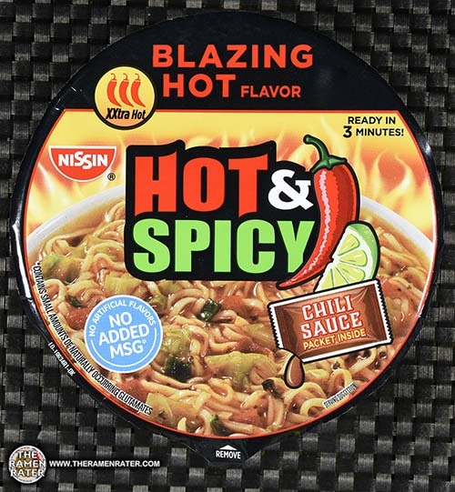 #2838: Nissin Hot & Spicy Blazing Hot Flavor