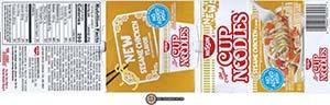 #2867: Nissin Cup Noodles Sesame Chicken Flavor Ramen Noodle Soup