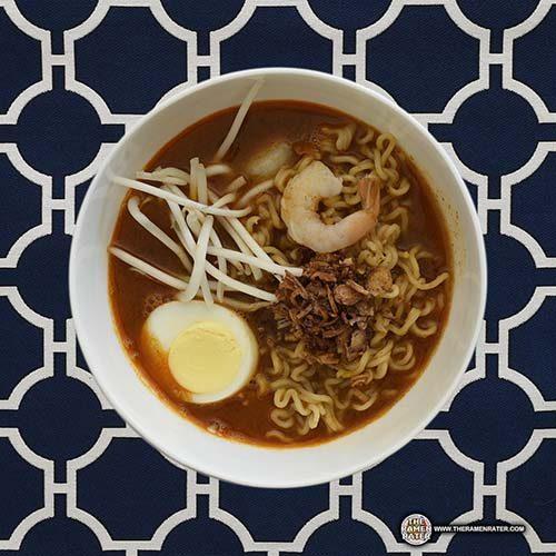 紅廚櫻花蝦辣湯麵