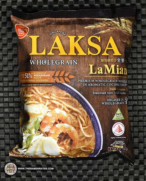 Re-Review: Prima Taste Singapore Laksa Wholegrain La Mian