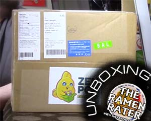 Unboxing Time: Zenpop Japan April Instant Ramen Box