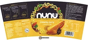 #2876: Nunu Fresh Flavors For Life Creamy Curry