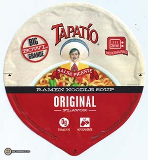 #2939: Tapatio Ramen Noodle Soup Original Flavor