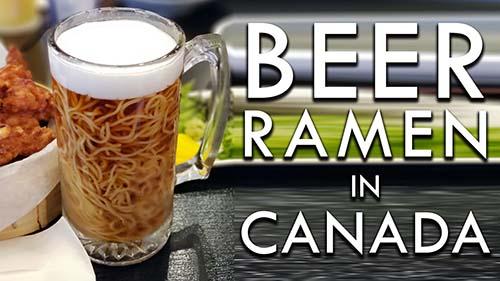 Beer Ramen In Canada