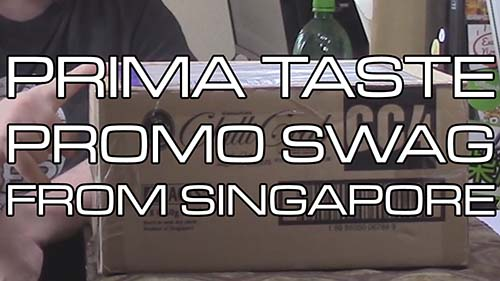 Unboxing Time: Instant Noodles Swag From Prima Taste