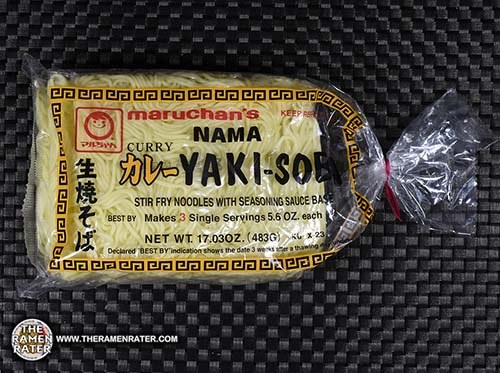 #2979: Maruchan Curry Nama Yakisoba Stir Fry Noodles With Seasoning Sauce Base