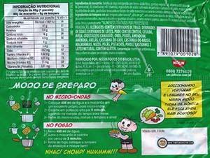 #2990: Nissin Miojo Turma Da Monica Sabor Tomate Suave - Brazil
