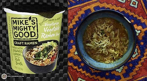 Mike's Mighty Good Craft Ramen Vegetarian Vegetable Ramen Soup