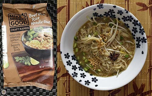 Mike's Mighty Good Craft Ramen Beef Pho Flavor Rice Noodle Soup