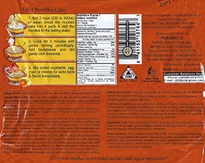 #3042: Canton Instant Noodles Curry Flavour - Bangladesh