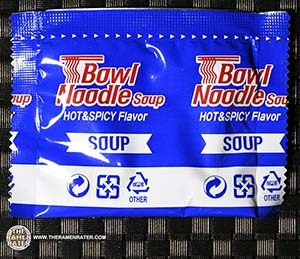 #3067: Samyang Foods Bowl Noodle Soup Hot & Spicy Flavor - South Korea