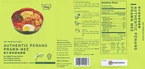 Meet The Manufacturer: #3089: Way Premium Foods Authentic Penang Prawn Mee - Malaysia
