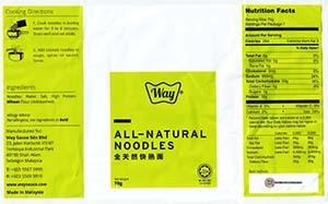 Meet The Manufacturer: #3089: Way Premium Foods Authentic Penang Prawn Mee - Malaysia