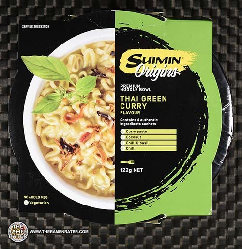 Meet The Manufacturer: #3138: Suimin Origins Premium Noodle Bowl Thai Green Curry Flavour - Australia