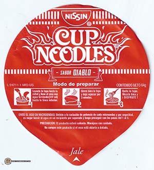 #3120: Nissin Cup Noodles Intensos Diablo - Mexico