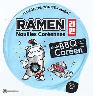 #3153: Maison De Coree x Samyang Ramen Gout BBQ Coreen - France