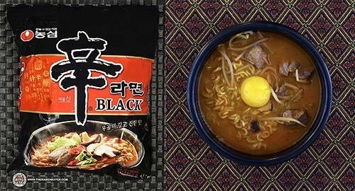 Best South Korean Ramen - Nongshim Shin Ramyun Black