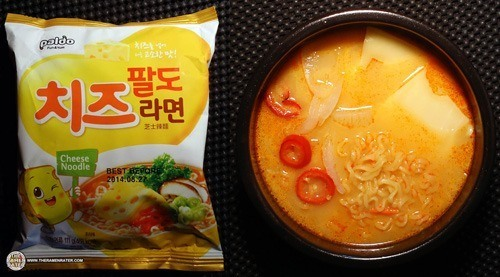 Best Korean Ramen - Paldo Cheese Noodle